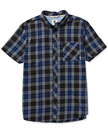 Element Men's Buffalo Plaid Button-Down Shirt