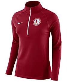 Nike Women's St. Louis Cardinals Half-Zip Element Pullover