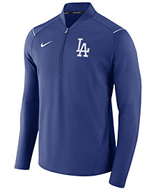 Nike Men's Los Angeles Dodgers Dry Elite Half-Zip Pullover