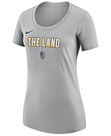 Nike Women's Cleveland Cavaliers City Edition Scoop T-Shirt