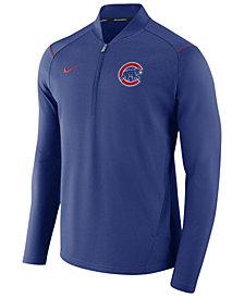 Nike Men's Chicago Cubs Dry Elite Half-Zip Pullover