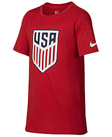 Nike USA National Team Crest T-Shirt, Big Boys (8-20)