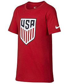 Nike USA National Team Crest T-Shirt, Big Boys (8-20)