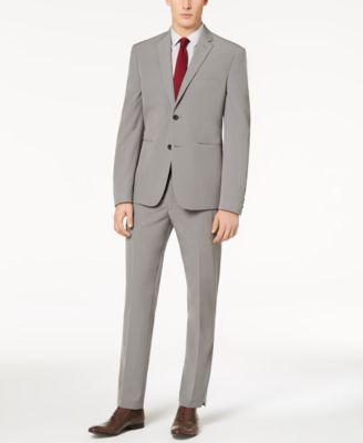 Perry Ellis Mens Slim Fit Stretch Suit Pant Dress Pants
