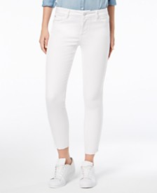 M1858 Kristen Mid-Rise Cropped Skinny Jeans with Cord Trim Detail, Created for Macy's