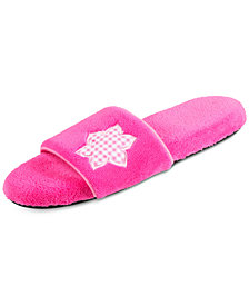 Isotoner Signature Women's Microterry Abby Slides