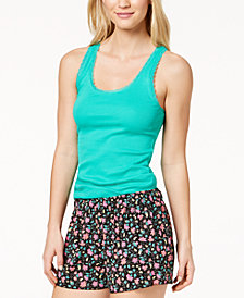 Jenni By Jennifer Moore Solid Tank Top, Created for Macy's