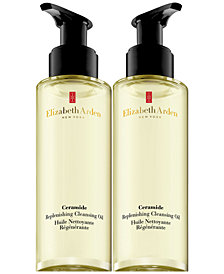 Elizabeth Arden Ceramide Cleansing Oil Duo, 100 ml.