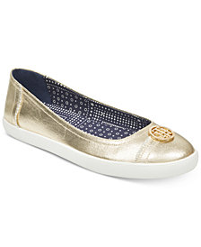 Tommy Hilfiger Women's Vinn Flats, Created for Macy's