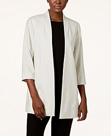 Eileen Fisher Tencel® Open-Front Blazer