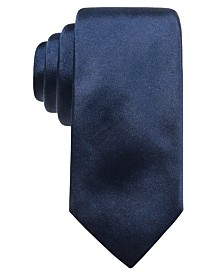 Ryan Seacrest Distinction™ Men's Solid Silk Tie, Created for Macy's