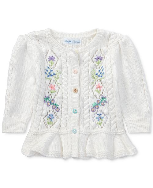 b780ea3594ab Polo Ralph Lauren Ralph Lauren Embroidered Cardigan