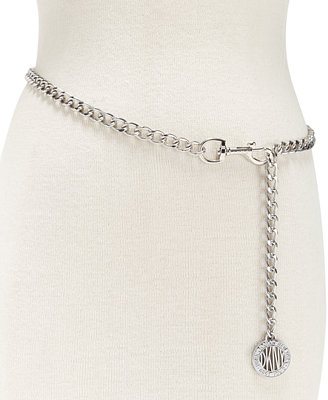 Logo Chain Link Belt, Created For Macy's by Dkny