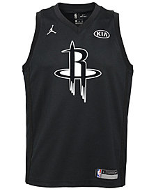 Nike James Harden Houston Rockets All Star Swingman Jersey, Big Boys (8-20)