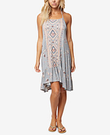O'Neill Juniors' Sonoma Printed Halter Dress