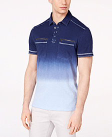 I.N.C. Men's Ombré Polo, Created for Macy's