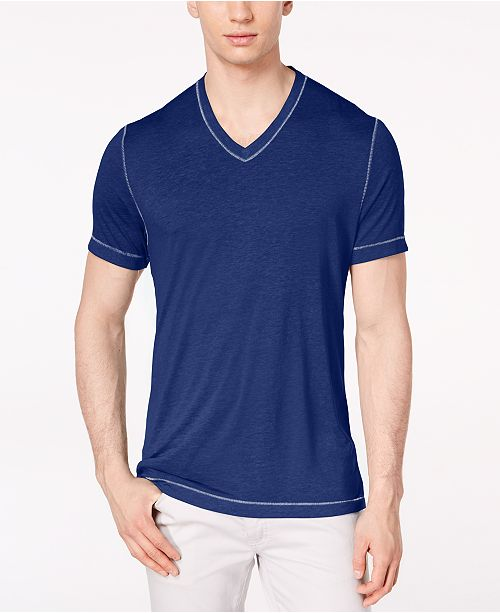 INC International Concepts I.N.C. Men's Heathered T-Shirt, Created for Macy's