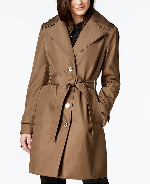 Belted Waterproof Trench Coat
