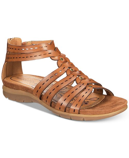 9c556e12459 Baretraps Kaiser Flat Gladiator Sandals   Reviews - Sandals   Flip ...