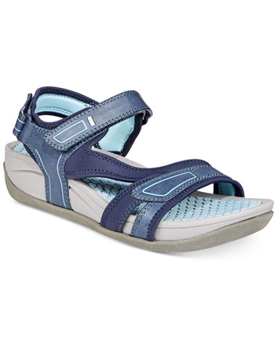 Bare Traps Delona Rebound Technology Wedge Sandals, Created for Macy's