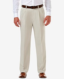Men's Cool 18 PRO Classic-Fit Expandable Waist Pleated Stretch Dress Pants