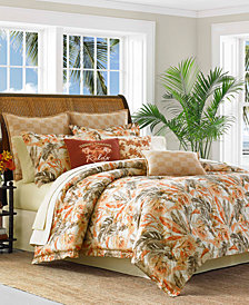 Tommy Bahama Home Kamari 4-Pc. Queen Comforter Set