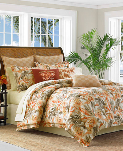 Tommy Bahama Home Kamari 4-Pc. Queen Comforter Set