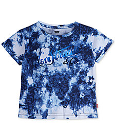 Levi's® Tie-Dyed Cotton T-Shirt, Big Girls