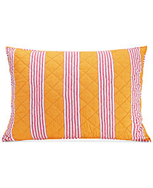 Vera Bradley Louisa Textured Stripe King Sham