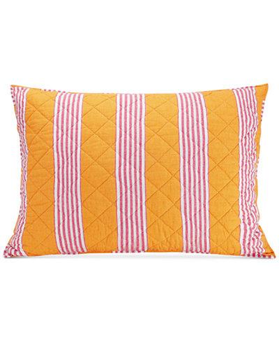 Vera Bradley Louisa Textured Stripe Standard Sham