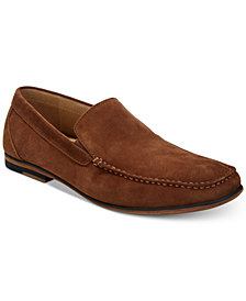 Kenneth Cole Reaction Men's Integer Suede Moc-Toe Loafers