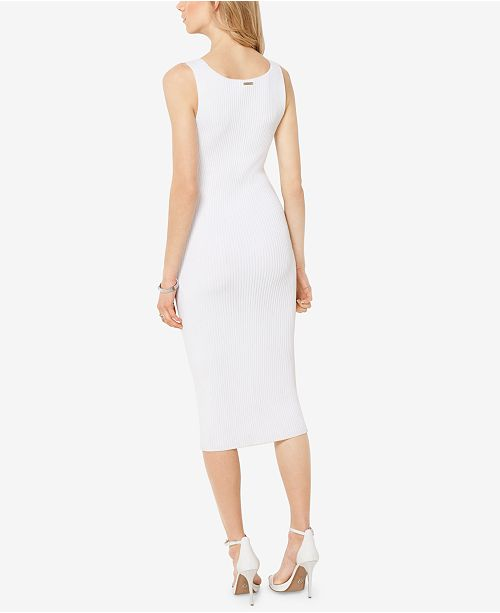00f9dded5cf Michael Kors Sleeveless Bodycon Sweater Dress   Reviews - Dresses ...