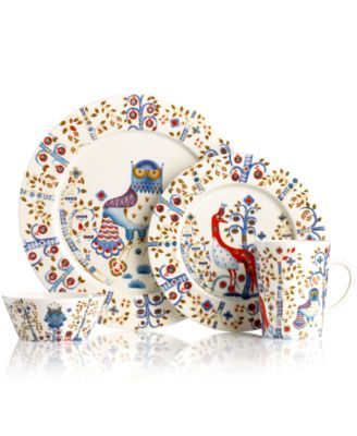 Iittala works magic on casual tables with the enchanting Taika dinnerware collection. Folksy illustrations by Klaus Haapaniemi tell a unique story on modern ...  sc 1 st  Macy\u0027s & iittala Dinnerware Taika Collection - Dinnerware - Dining ...