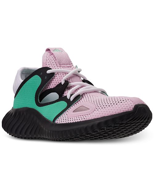 ce4a2f2b65c adidas Women s Run Lux Clima Running Sneakers from Finish Line ...