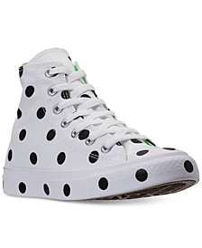 Converse Women's Chuck Taylor Hi Polka Dot Casual Sneakers from Finish Line