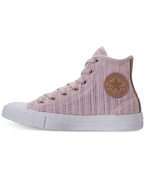 cd84f543ebcd ... Converse Women s Chuck Taylor Hi Woven Casual Sneakers from Finish Line  ...