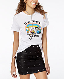 Freeze 24-7 Juniors' Peanuts Graphic T-Shirt