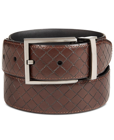 Ryan Seacrest Distinction™ Men's Reversible Dress Belt, Created for Macy's