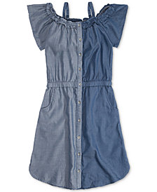 Levi's® Harper Colorblocked Shirtdress, Big Girls
