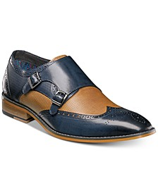 Men's Lavine Double Monk Strap Loafers