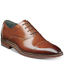 Stacy Adams Men's Barris Cap Toe Leather Oxfords