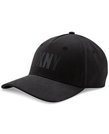 DKNY Men's Flocked Logo Hat, Created for Macy's