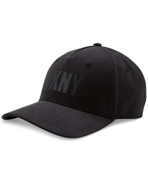 DKNY Men's Flocked Logo Hat, Created for Macy's