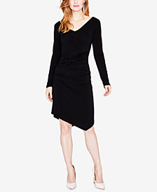 RACHEL Rachel Roy Ruched Asymmetrical Dress, Created for Macy's