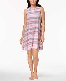 Ande Whisperluxe Sleeveless Printed Nightgown