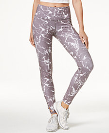 Ideology Marble Printed Leggings, Created for Macy's