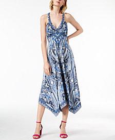 I.N.C. Handkerchief-Hem Midi Dress, Created for Macy's