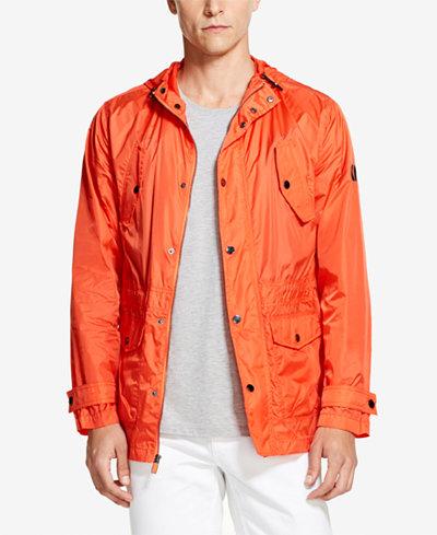 DKNY Men's Orange Windbreaker, Created for Macy's
