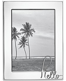 "In A Word: Hello 5"" x 7"" Frame"