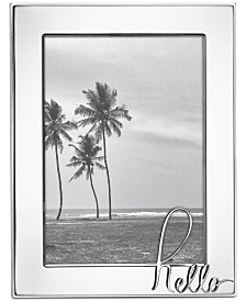 "kate spade new york In A Word: Hello 5"" x 7"" Frame"